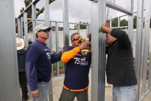 Construcción de la solución habitación 75,001 con sistema Pinnacle.